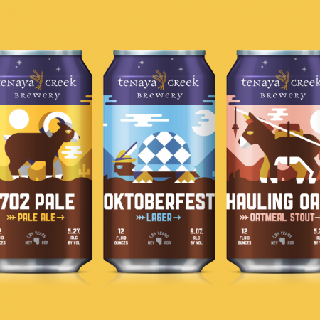 Tenaya Creek Brewery Cans