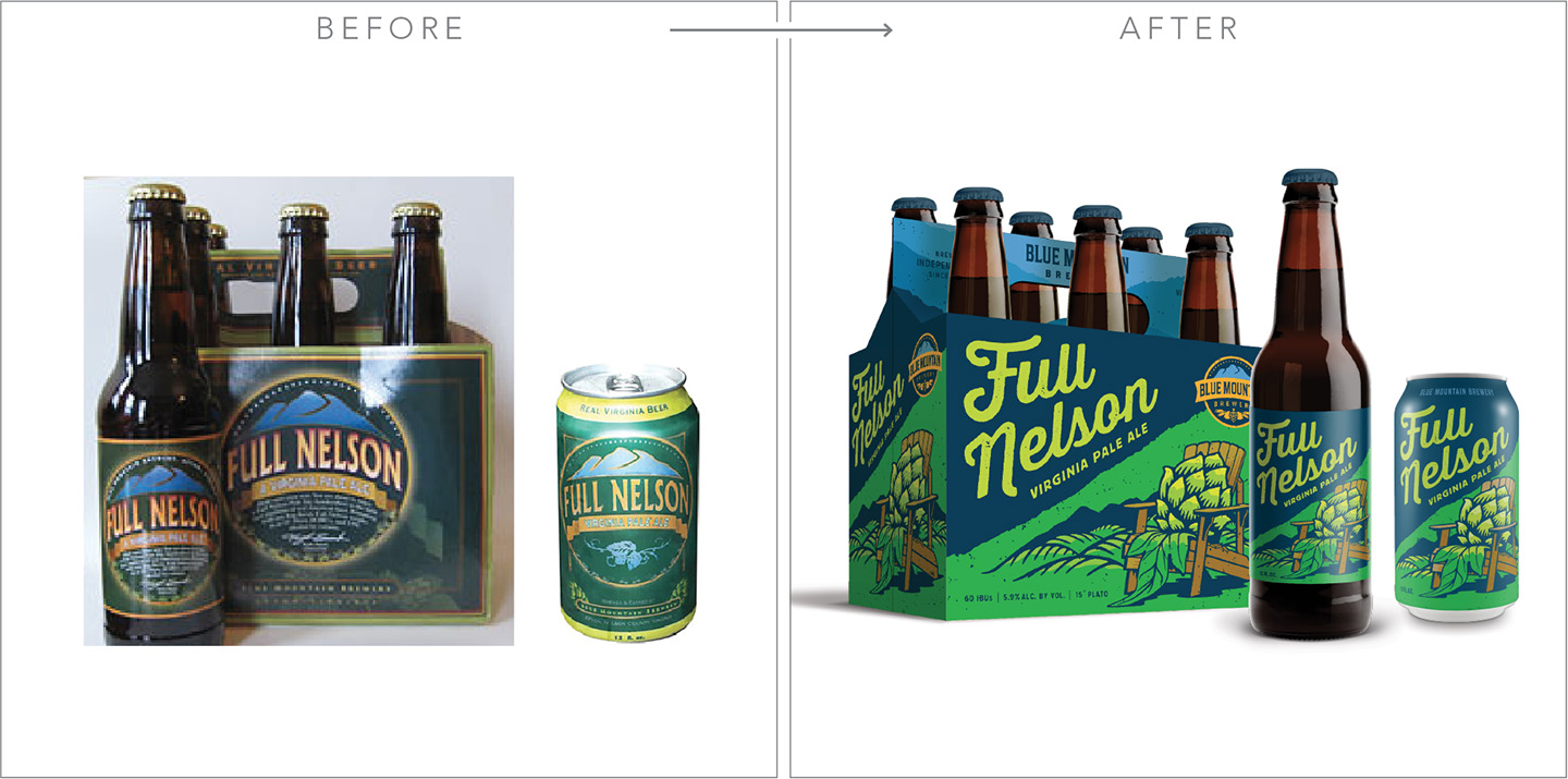 Blue Mountain Brewery Packaging