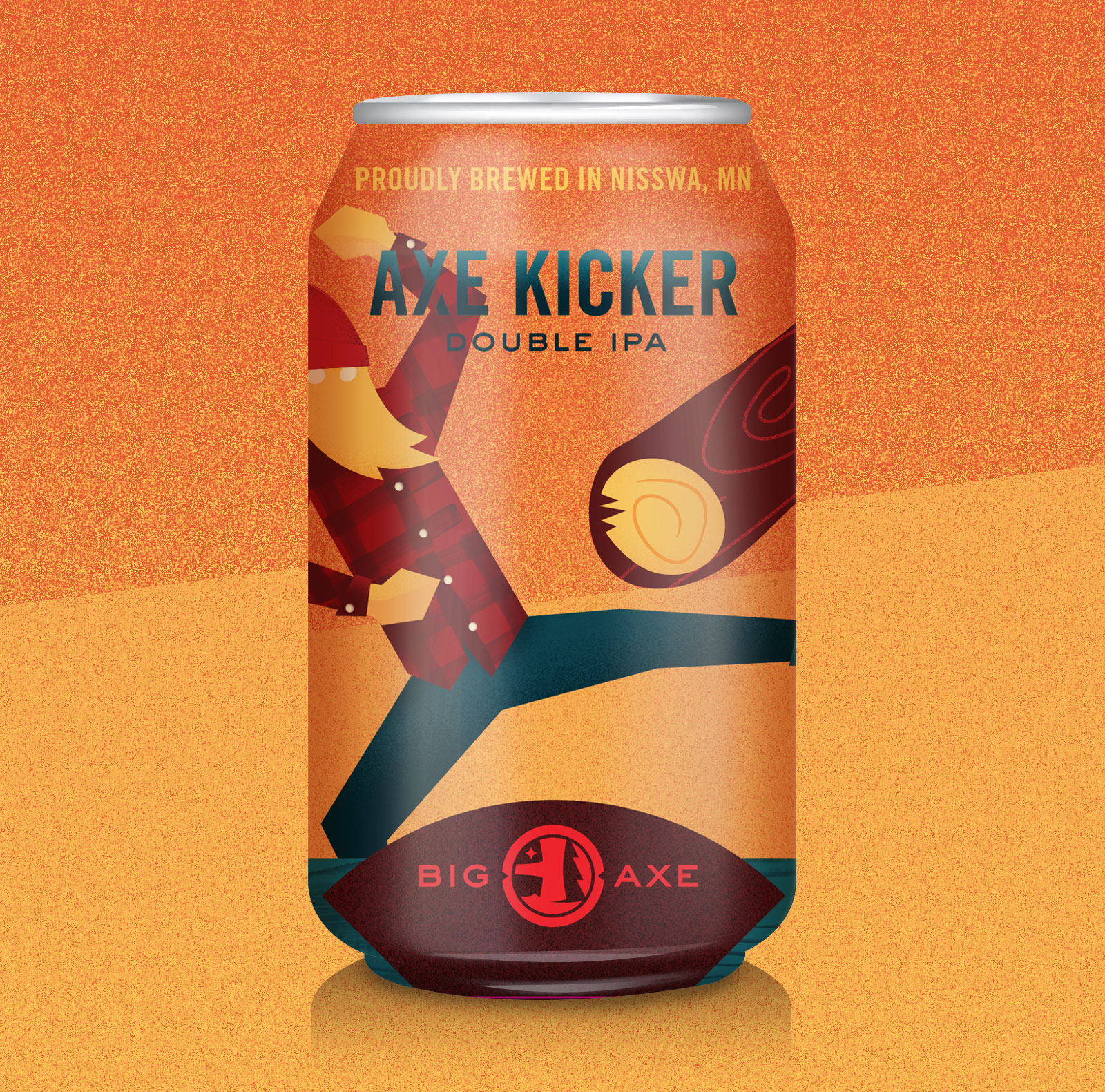 Big Axe Brewing Cans