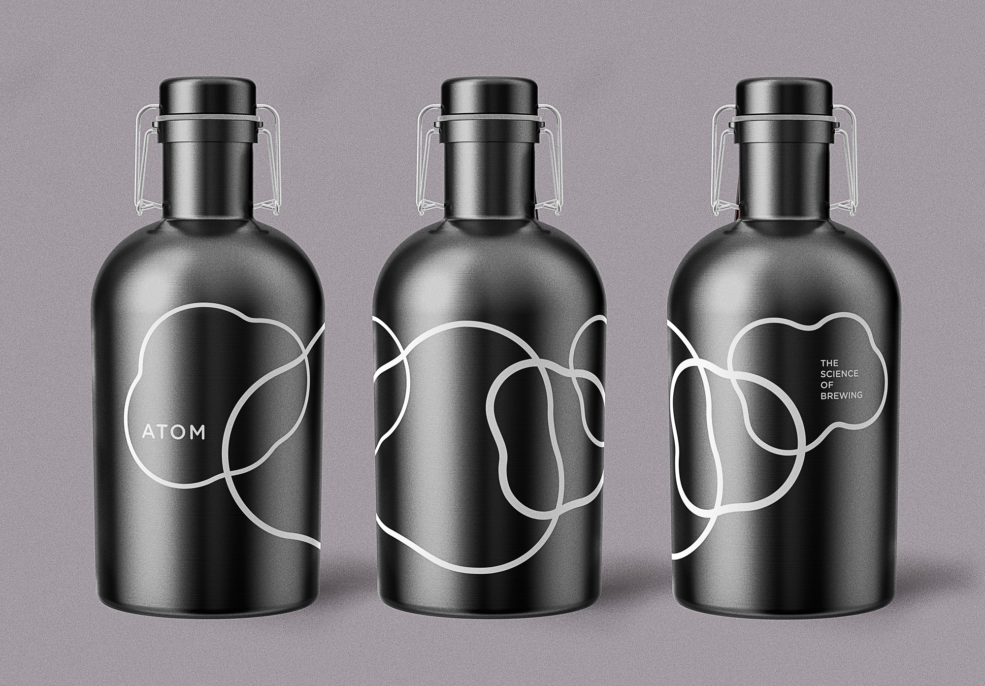 Atom Beers Growler