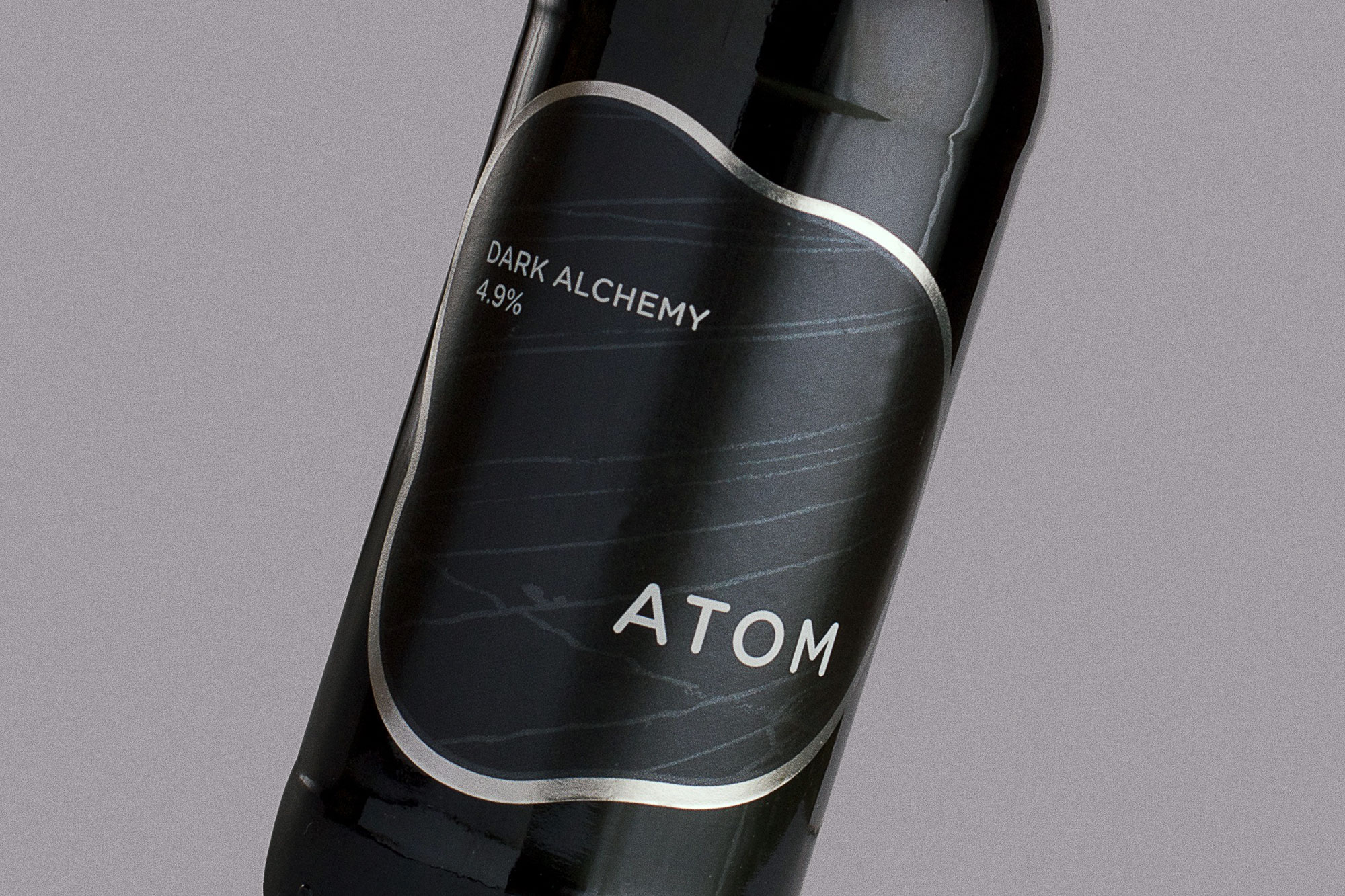 Atom Beers Bottle