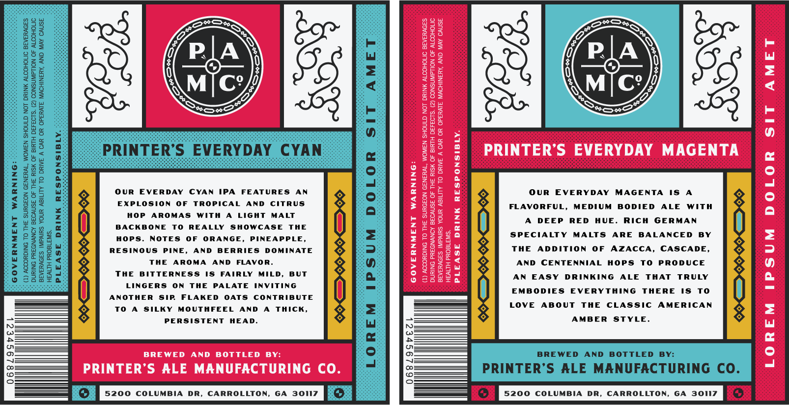 Printer's Ale Manufacturing Co.