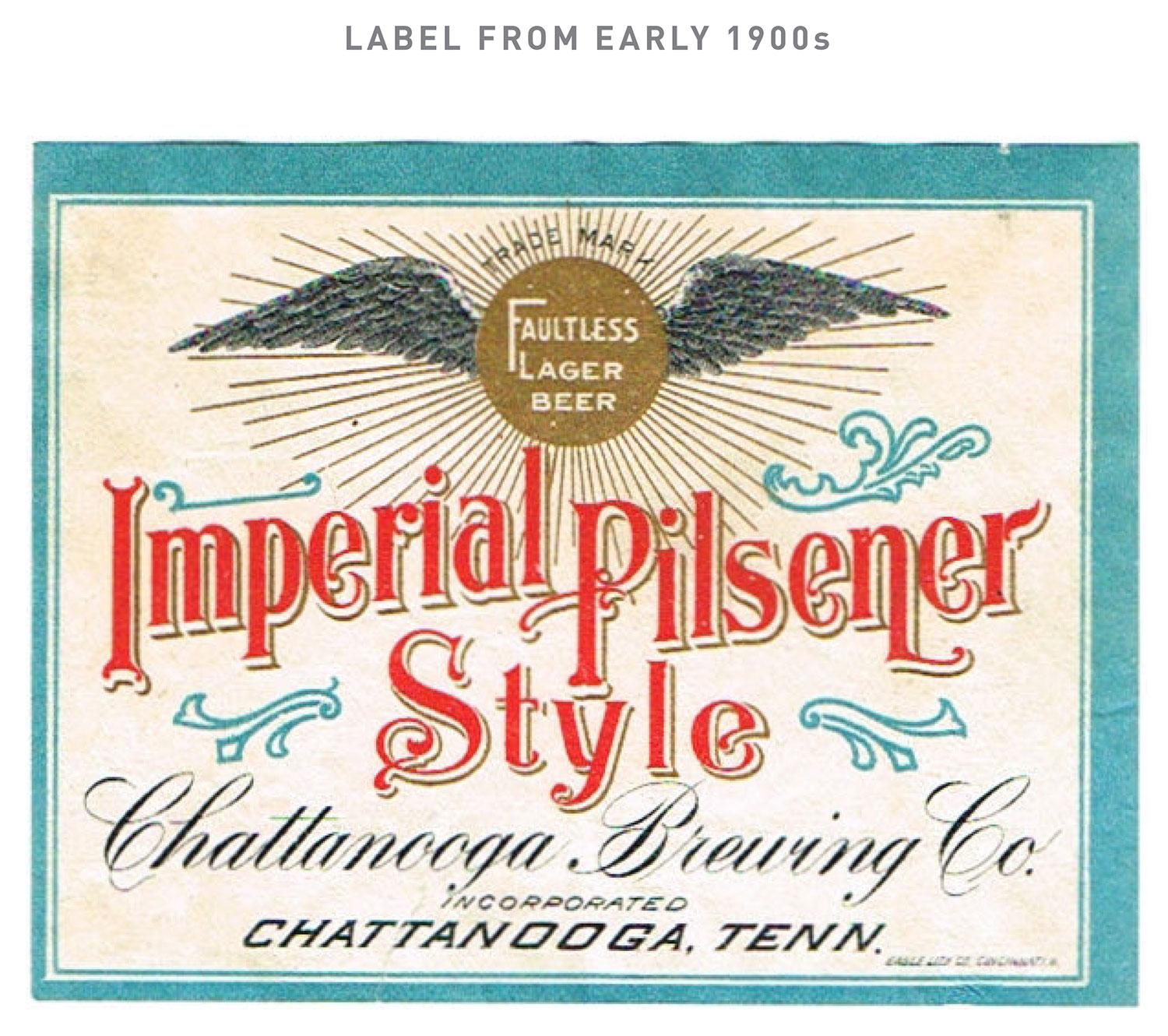 Chattanooga Brewing Co. Label