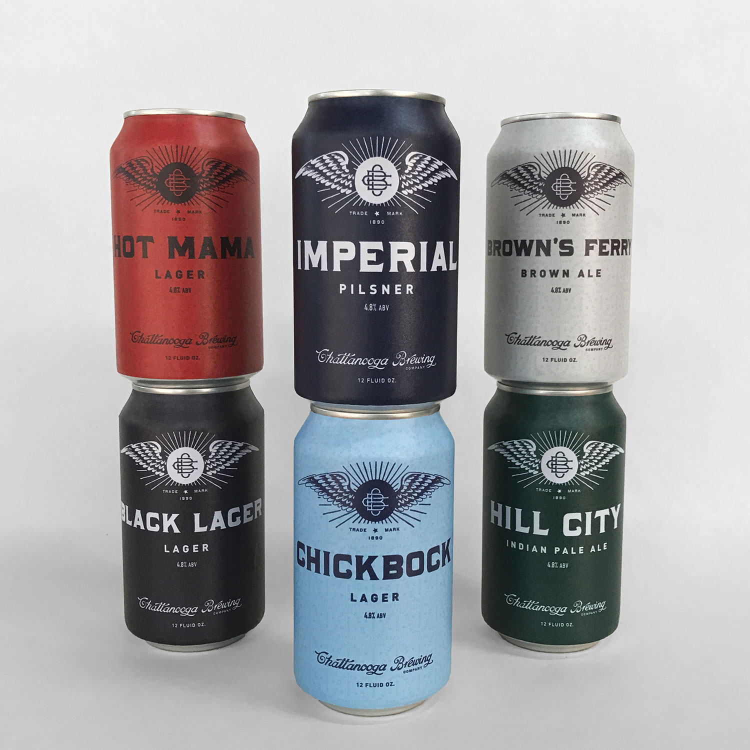 Chattanooga Brewing Co. Cans