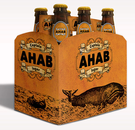 Ahab Lager Packaging | Oh Beautiful Beer