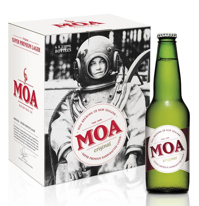 Moa Beer Packaging Oh Beautiful Beer