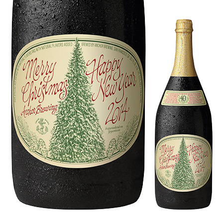 Anchor Steam Christmas Ale.Anchor Christmas Ale 2014 Oh Beautiful Beer